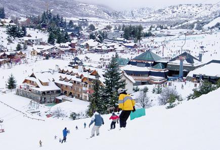 Skifahren in der Wiege des argentinischen Wintersports, in Cerro Catedral. F(oto: Bosco)
