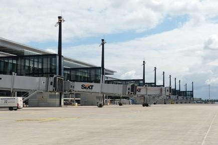 Noch völlig offen ist, wann die ersten Flugzeuge am Flughafen Berlin Brandenburg starten und landen. (Foto: Muns)