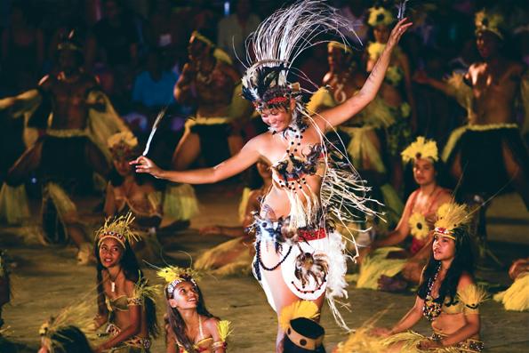 Tanz ist Ausdruck der Lebensfreude und Teil der Kultur in Tahiti. (Foto: Xavier Lancry)