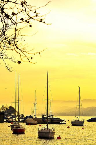 Freizeitoase am Rande der Innenstadt: Der Zürichsee. (Fotos Zürich Tourismus)