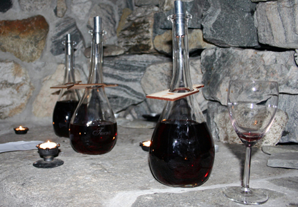 Johan Setnes fertigt Wein aus fast allem, was die Natur seiner Heimat hergibt. (Foto: Ulrike Katrin Peters)