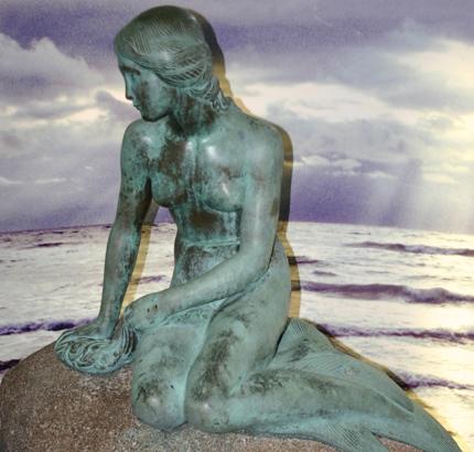 100 Jahre alt und doch jung geblieben: Kopenhagens Kleine Meerjungfrau. (Foto: Karsten-Thilo Raab)