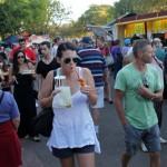 Stimmungsvoller Sunset Market am Mindil Beach