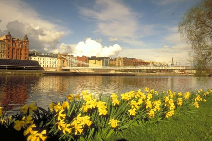 Lebensader von Glasgow der Fluss Clyde. (Foto: Visit Britain)