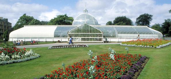 Eine Pilgerstätte nicht nur Pflanzenliebhaber: Die botanischen Gärten von Glasgow. (Foto: Visit Britain)