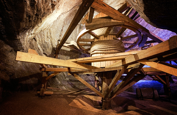 Bochnia ist nicht nur das älteste Salzbergwerk Polens, sondern gehört jetzt ebenso wie das benachbarte Wieliczka dem Weltkulturerbe der UNESCO. (Foto: Polnisches Fremdenverkehrsamt)