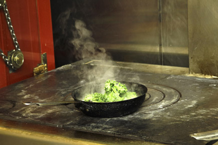 Längst brutscheln in der englischen Küche nicht mehr nur Fisch & Chips und viel Frittiertes. (Foto Udo Haafke)