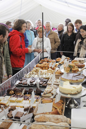 Steigt jährlöich im September: Das York Food Festival. (Foto: Udo Haafke)