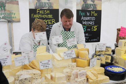 Beim traditionellen York Food Festival lässt sich Yorkshire mittels der Geschmacksknospen erleben. (Foto: Udo Haafke)