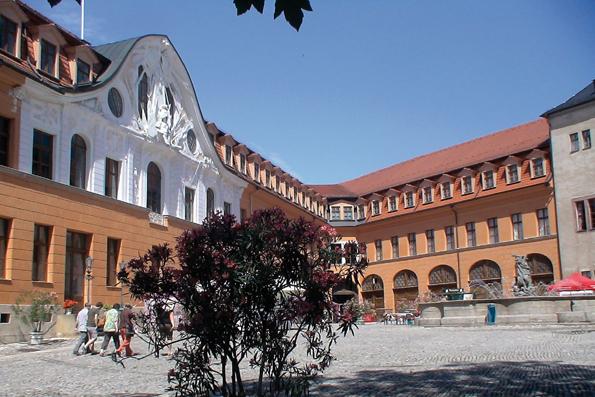 Das Residenzschloss in Sondershausen - es ist nicht nur eine Attraktion der Kyffhäuserregion, sondern auch ein Schauplatz des Thüringentags 2013. (Foto: TV Kyffhäuser)