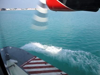 Von Malé starten Wasserflugzeuge in alle Teile der Inselwelt der Malediven. (Foto: Karsten-Thilo Raab)