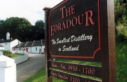 Schottlands kleinste Destillerie: Edradour. (Foto: Karsten-Thilo Raab)
