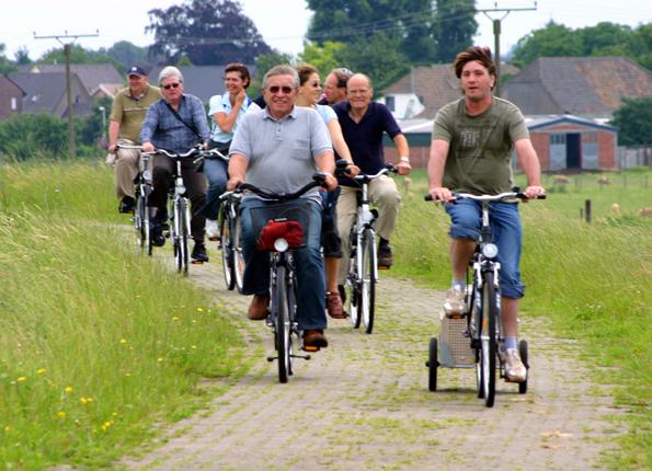 Es gibt alle möglichen ASrten von Radfahrern - vom Schönwetterpedaleur bis hin zum Kilometerfresser. (Foto: Karsten-Thilo Raab)