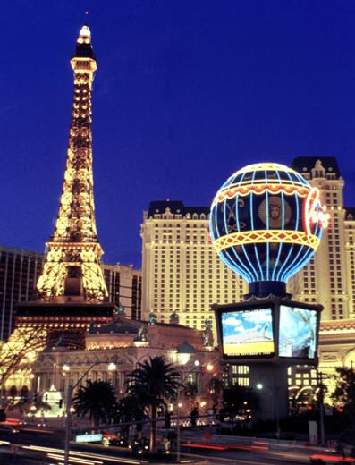Ein Hauch von Paris in der Wüste von Nevada.  (Foto LVNB)