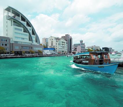 Klein, verträumt und doch modern: Malé.