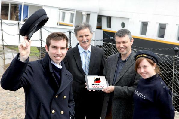 Freude herrscht in Belfast, dass mit der SS Nomadic ein Stück Schifffahrtsgeschichte gerettet werden konnte. ,