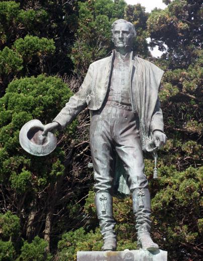 Allgegenwärtig in Uruguay: der Nationalheld José Gervasio Artigas. (Foto: Daniel A. Kempken)