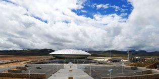 Höchster Flughafen der Welt in China eröffnet