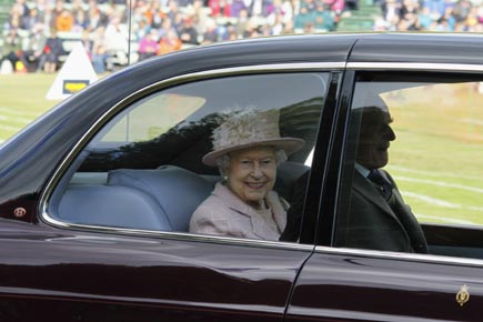 Fast jedes Jahr Gast bei den Highland Games in Braemar: Die britische Königin Elizabeth II. (Foto: Udo Haafke)
