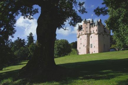 Schottisches Kleinod: Craigievar Castle. (Foto: Udo Haafke)
