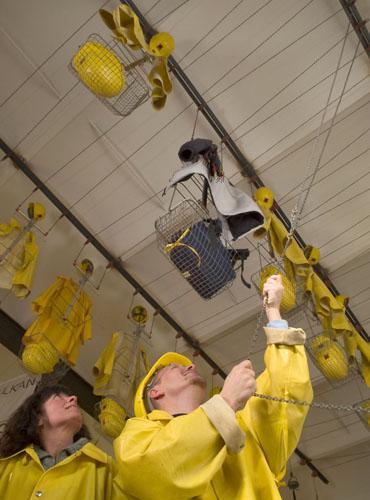 Im Lavakeller Mendig erlebt man hautnah, wie die Bergleute einst arbeiteten. (Foto: Vulkanpark)