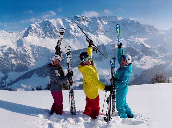 Das schweizerische Adelboden hat im Winter weit mehr zu bieten als Skispaß. (Foto: Christoph Sonderegger)