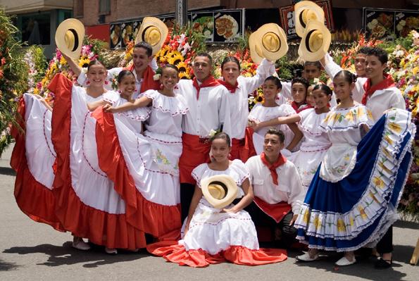 Farbenfroh und fröhlich: Die Feria de las Flores in Medellín- das Blumenfest von Medellín