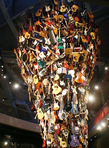 Im EMP sind derzeit weitere spektakuläre Ausstellungen - unter anderem aus der Musik zu sehen. (Foto WTS GmbH)