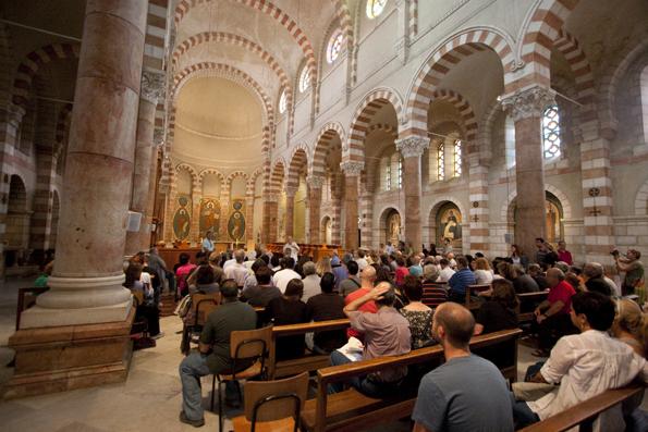 Auch eine Kirchenbesichtigung in Ostjerusalem ist wieder Teil von Open House Jerusalem. (Foto: Guy Itzhaki)