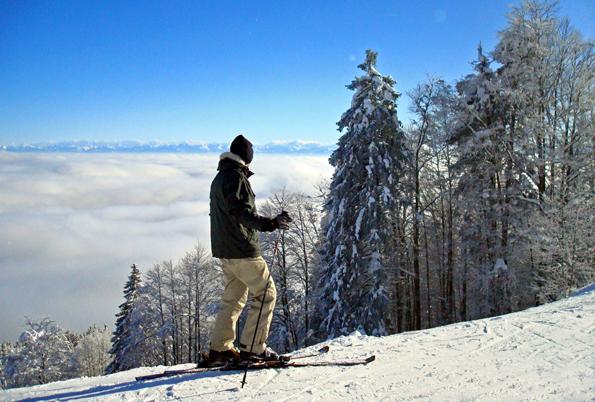 Rund um das Wintersportgebiet Métabief finden sich neun kleine Dörfer, von denen aus man 40 Kilometer Pisten und 200 Kilometer Loipen befahren kann.