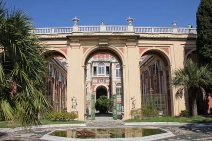 Eine der vielen prächtigen Stadtpaläste in Genua: Der Palazzo Reale, der heute als Museum dient. (Foto: Karsten-Thilo Raab)