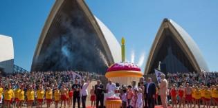Sydney steht zum 40. Geburtstag seines ikonischen Opernhauses auf der Weltbühne