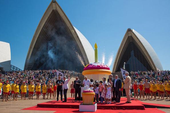 Rückte zum 40. Geburtstag in den Fokus der Weltöffentlichkeit: Das spektakuläre Sydney Opera House. (Foto: Destination NSW)