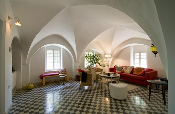 Überraschende Einblicke werden dem Besucher bei Open House Jerusalem auch in privaten Häusern gewährt.