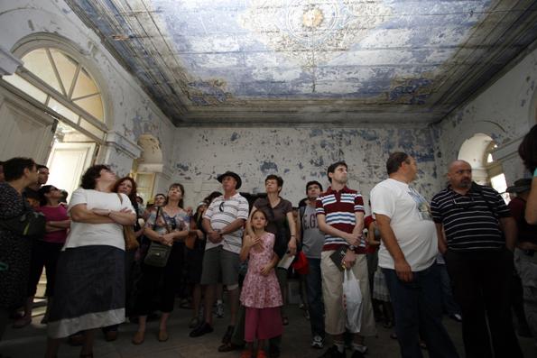 Altes, Neues und Überraschendes bieten die Privathäuser bei den Führungen im Rahmen von Open House Jerusalem. (Foto: Guy Izhaki)