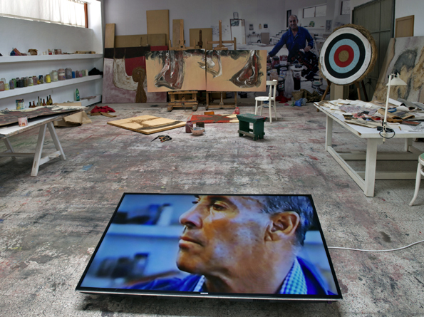 Die Werkstatt des Künstlers César Manrique in seinem Haus in Haría auf Lanzarote.(Foto:Fundación César Manrique)