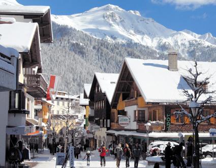Beliebter Treff für Wintersportler: St. Anton am Arlberg. (Foto: Josef Mallaun)