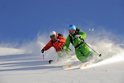 Perfekte Pistenbedingungen in St. Anton am Arlberg. (Foto: Josef Mallaun)