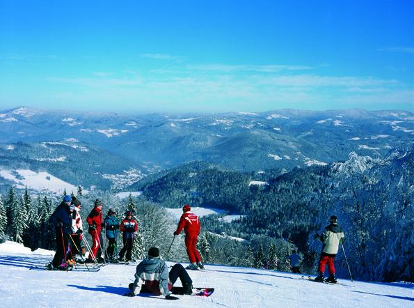 Zur neuen Skisaison hat der polnische Wintersport Szczyrk die Infrastruktur deutlich verbessert.  (Foto: Polnisches Fremdenverkehrsamt)