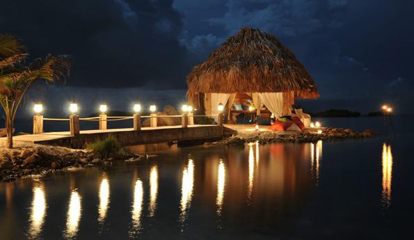 Arubas Strände vermitteln im Abendlicht ganzjährig Feierlaune.