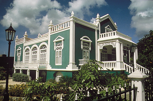 Bekannt ist Aruba auch für seine prächtige kolonialen herrenhäuser. (Fotos Aruba Tourism Authority)