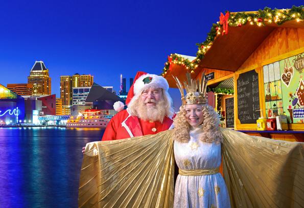 Die amerikanische Hafenstadt Baltimore lockt mit deutschen Weihnachtstraditionen. (Foto: CVB)