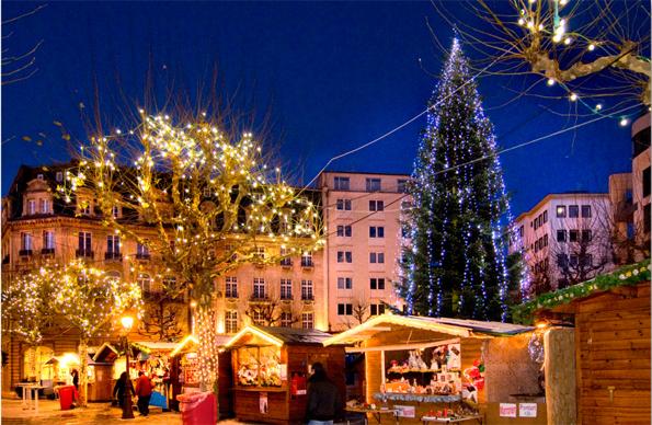 Klein, fein, stimmungsvoll: Der Weihnachtsmarkt in Luxemburg-Stadt.