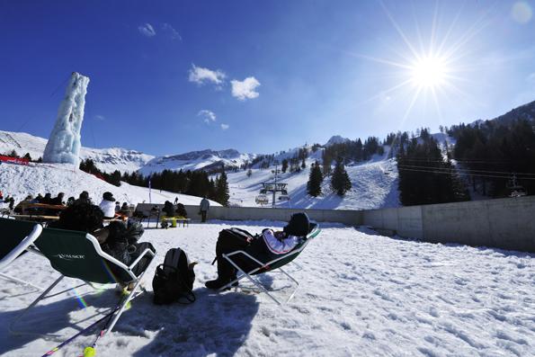 Natürlich bietet Liechtensteins Bergwelt auch Raum zum Entspannen.
