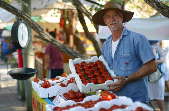 Ein Muss auf dem Sunshine Coast Food Trail: Der Besuch des Eumundi Markts.