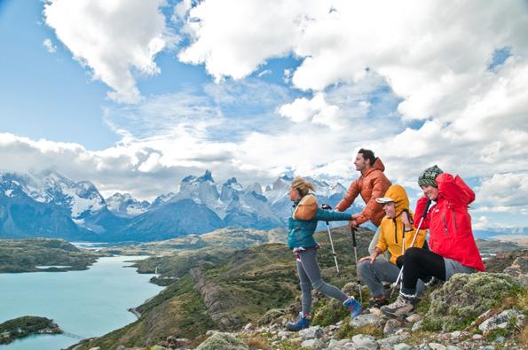 Chiles Torres del Paine Nationalpark erhielt nun den Ritterschlag und wurde zum achten Weltwunder erhoben. (Foto Martin Edwards)