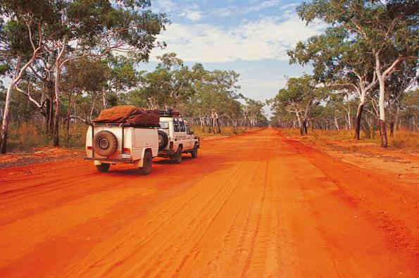 Der Outback Way wird seinem Namen vollauf gerecht.