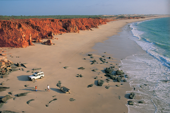 Die Faszination Westaustralien wird auch immer wieder an den herrlichen, einsamen Strandabschnitten deutlich.