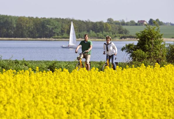 42 Kilometer schlängelt sich die Schlei von Schleimünde bis nach Schleswig und verändert alle paar Seemeilen das Landschaftsbild.(Foto: djd)