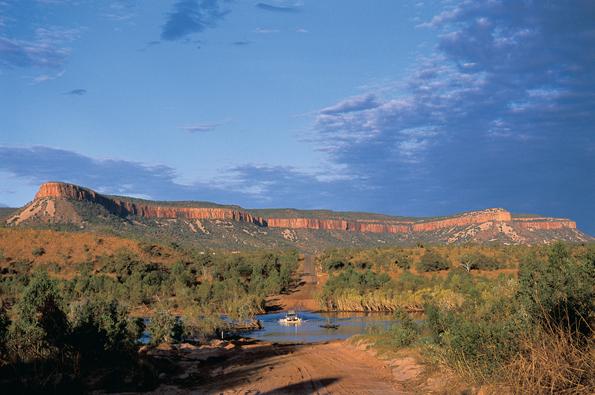Landschaftlich weiß Westaustralien - wie hier am Pentecoast River unweit von Cockburn Range - zu begeistern.